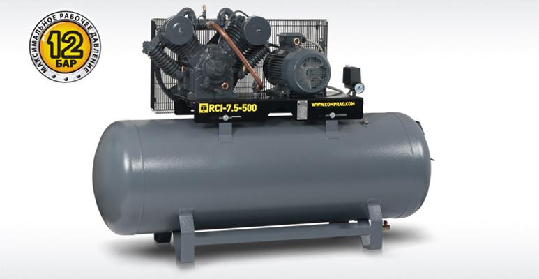 Поршневые компрессоры серии RECOM RCI с производительностью до 1,2