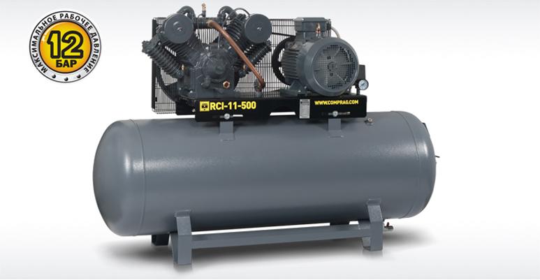 Поршневые компрессоры серии RECOM RCI с производительностью до 1,9